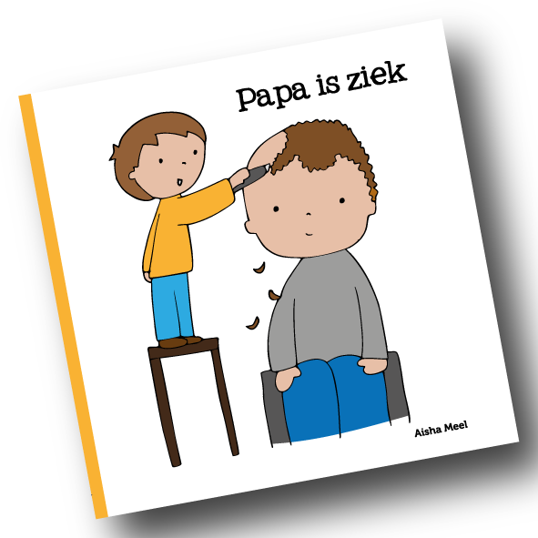 papa is ziek_Tekengebied 1